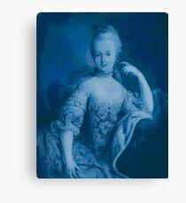 Blue Marie Canvas Print