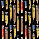 Tiny Pencil Pattern by Robayre by Robayre