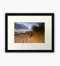 Instow Sand Dune Framed Print