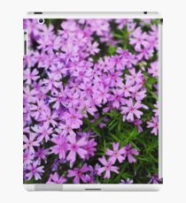 Fairy Foxglove Purple Flowers  iPad Case/Skin