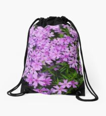 Fairy Foxglove Purple Flowers  Drawstring Bag
