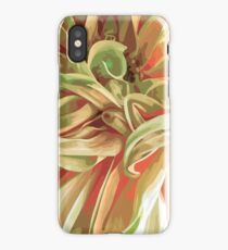 Into the yellow forest iPhone Case