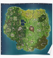 Fortnite Map Season 4 Poster