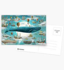Ozean trifft Himmel - Wahl Postkarten
