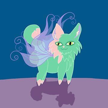 Fairy Kitten by KHRArts