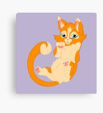 Orange Kitten Canvas Print