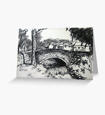 Clapham Bridge Greeting Card