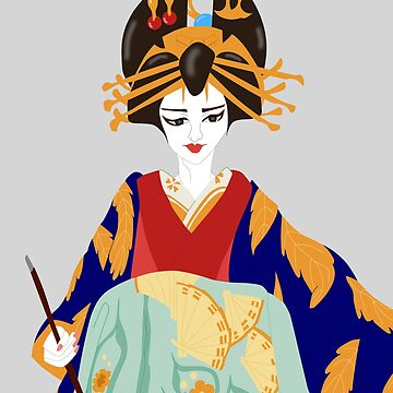 The Oiran by KHRArts
