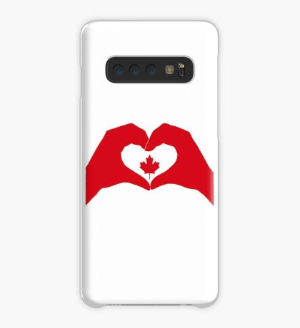 We Heart Canada Patriot Flag Series 1.0 Case/Skin for Samsung Galaxy