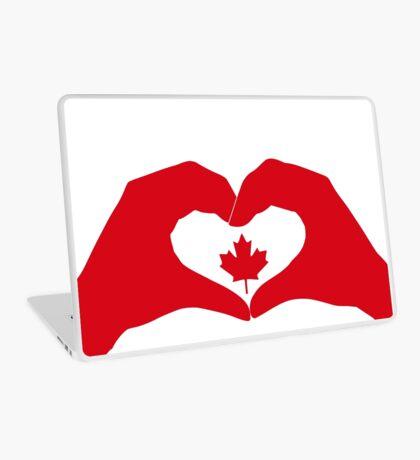 We Heart Canada Patriot Flag Series 1.0 Laptop Skin