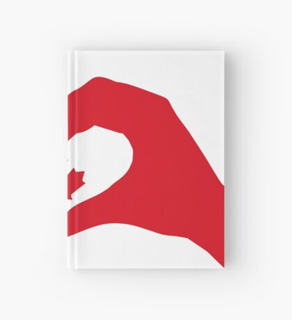 We Heart Canada Patriot Flag Series 1.0 Hardcover Journal