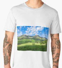 Lake District landscape Men's Premium T-Shirt