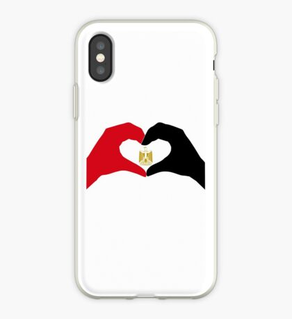 We Heart Egypt Patriot Flag Series  iPhone Case