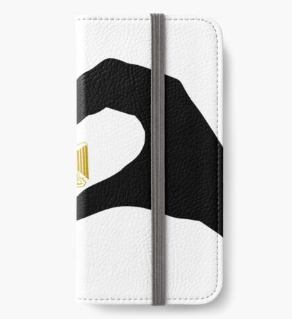 We Heart Egypt Patriot Flag Series  iPhone Wallet