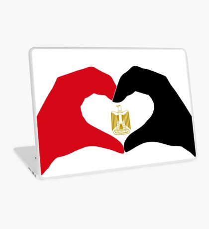 We Heart Egypt Patriot Flag Series  Laptop Skin