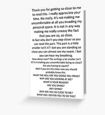 Nosy Readers Greeting Card