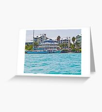 Graceful Living In Key West Greeting Card