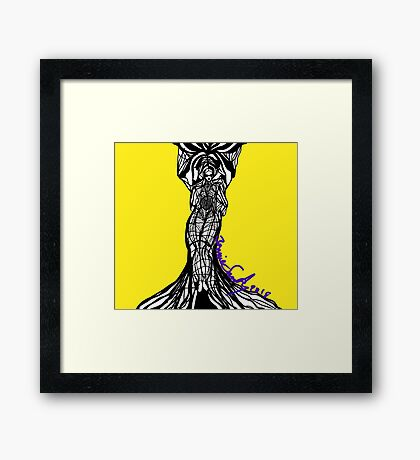 Woman Within8 Framed Print