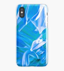 Into the blue forest iPhone Case