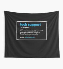 Tela decorativa Regalo de soporte técnico Definición Divertido informático Geek presentes