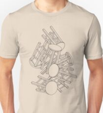 CHAIRS CHAIRS CHAIRS  Unisex T-Shirt