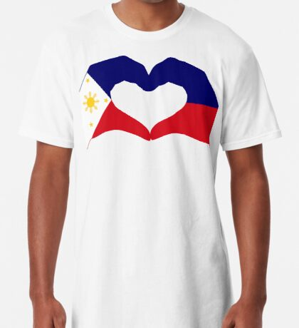 We Heart Philippines Patriot Series Long T-Shirt
