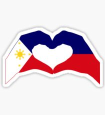 We Heart Philippines Patriot Series Sticker