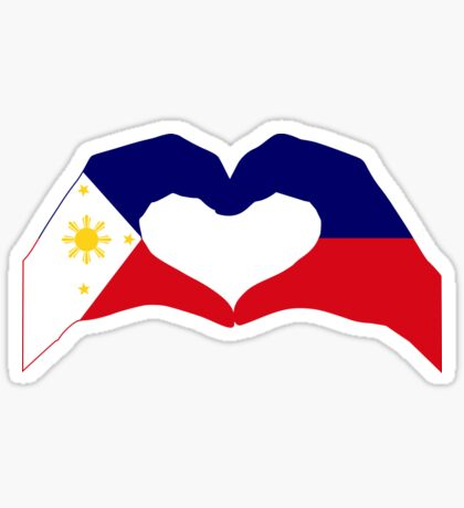 We Heart Philippines Patriot Series Glossy Sticker