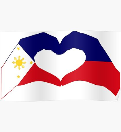 We Heart Philippines Patriot Series Poster