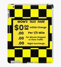 Mom Starring As The Taxi Driver iPad Case/Skin