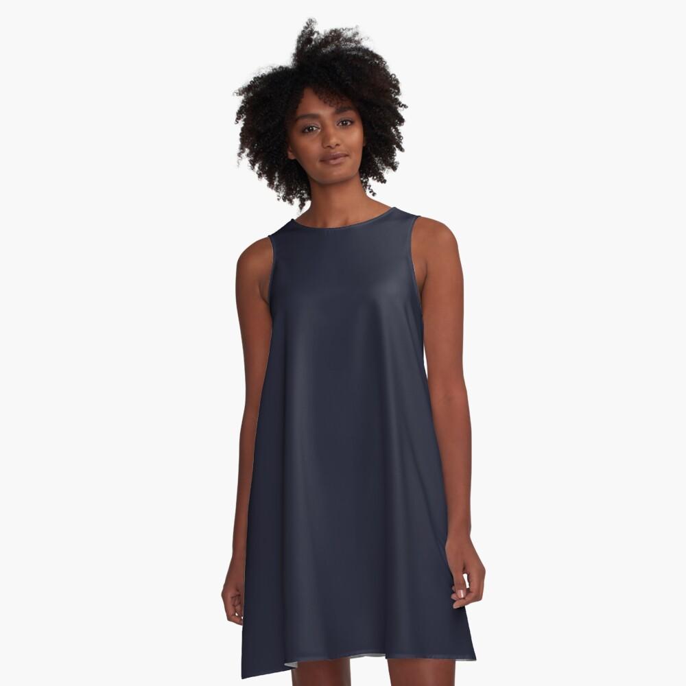 Holunder A-Linien Kleid