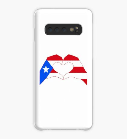 We Heart Puerto Rico Patriot Series Case/Skin for Samsung Galaxy