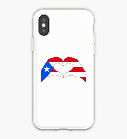We Heart Puerto Rico Patriot Series iPhone Case