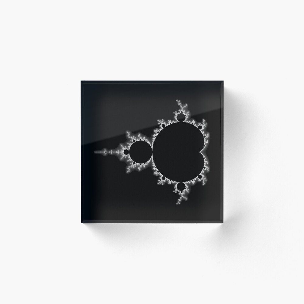 Mandelbrot 20161022-002 Acrylic Block