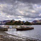 Cruise boat at Derwentwater Pier by Tom Gomez