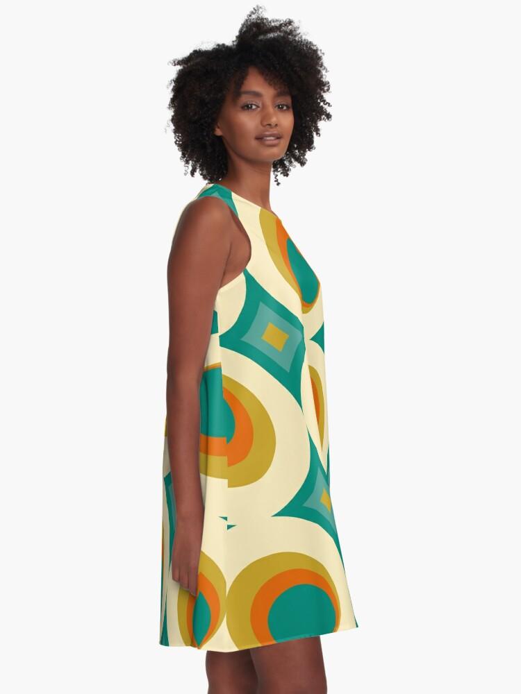 Alternate view of Mid-Century Modern Splash A-Line Dress