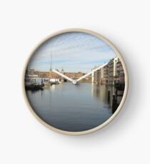 Amsterdam Water front Clock