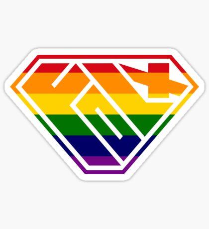 Folx SuperEmpowered (Rainbow) Sticker