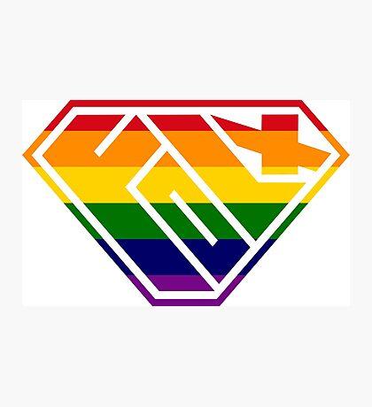 Folx SuperEmpowered (Rainbow) Photographic Print