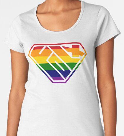 Folx SuperEmpowered (Rainbow) Women's Premium T-Shirt