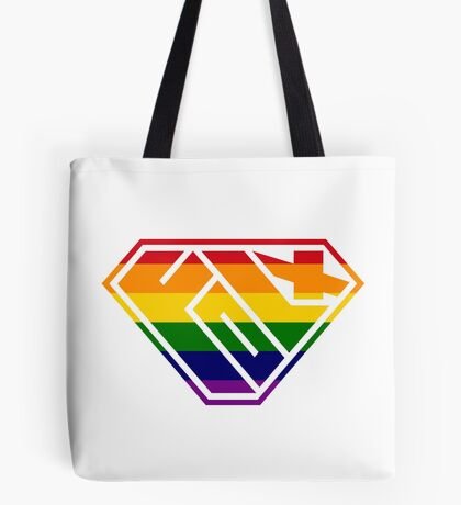 Folx SuperEmpowered (Rainbow) Tote Bag