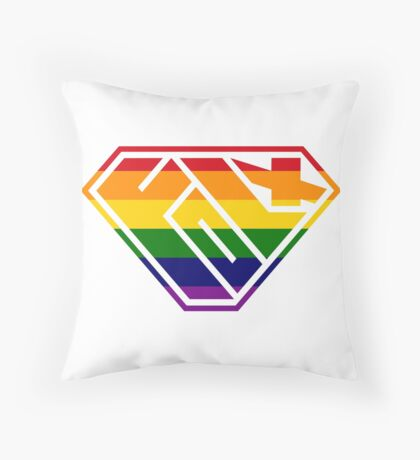 Folx SuperEmpowered (Rainbow) Floor Pillow