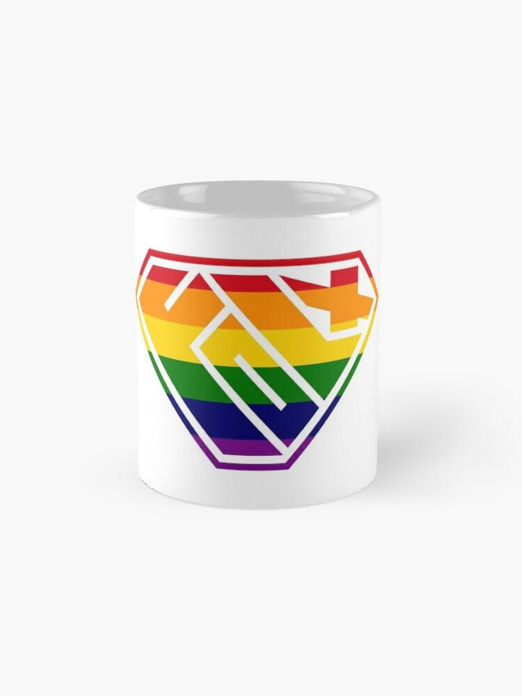 Alternate view of Folx SuperEmpowered (Rainbow) Classic Mug