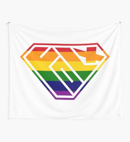 Folx SuperEmpowered (Rainbow) Wall Tapestry
