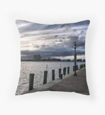 Dockside Throw Pillow
