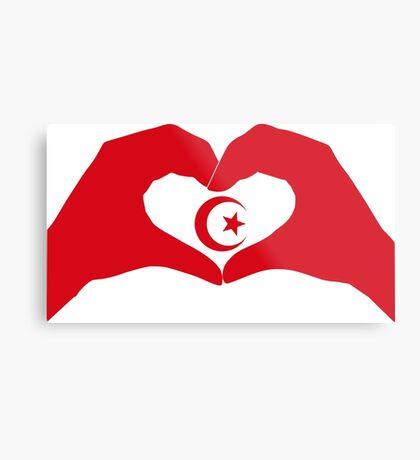 We Heart Islam Patriot Series Metal Print