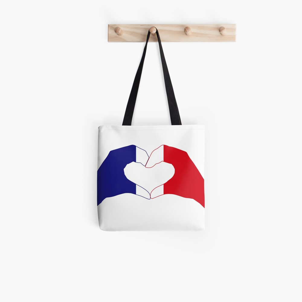 We Heart France Patriot Series Tote Bag