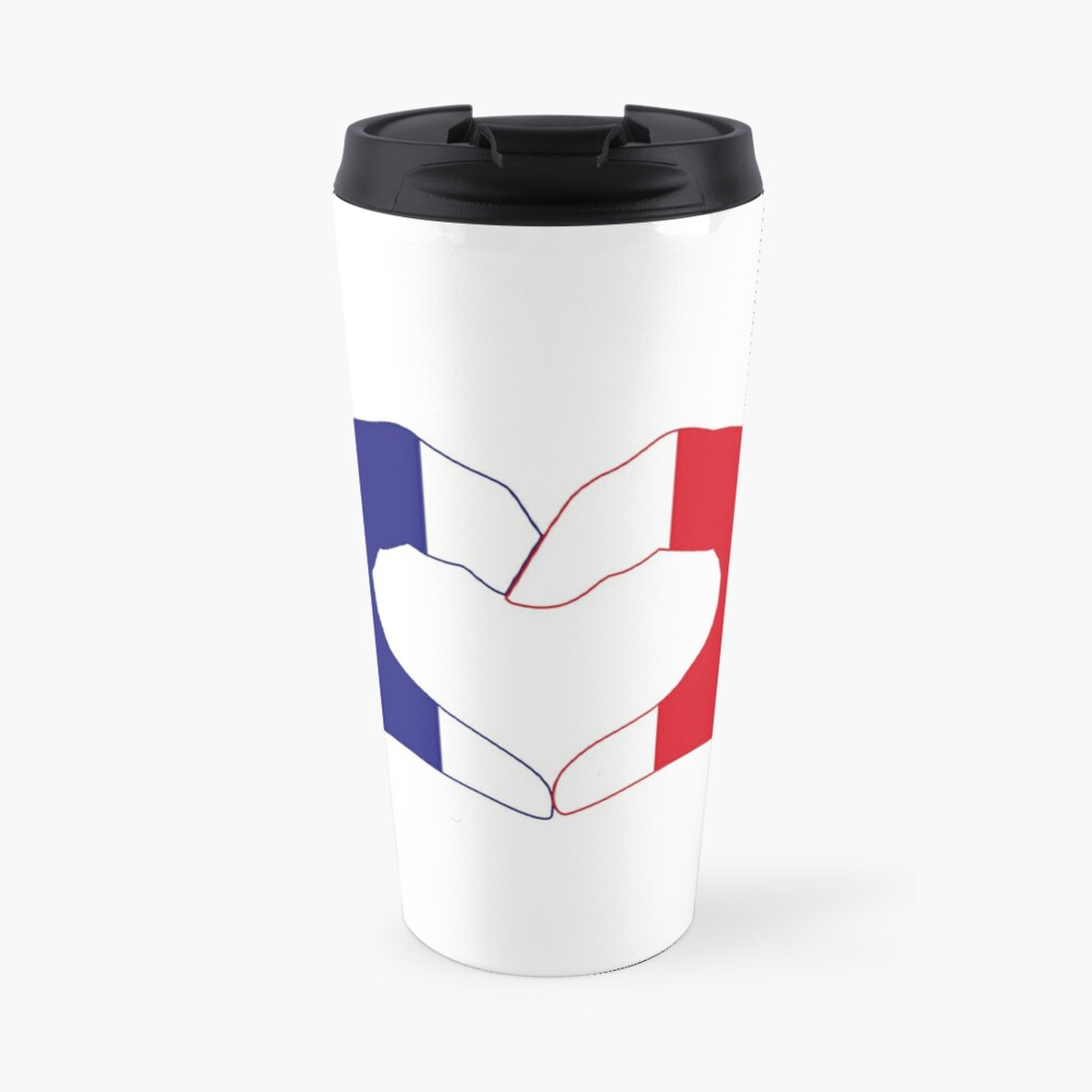 We Heart France Patriot Series Travel Mug