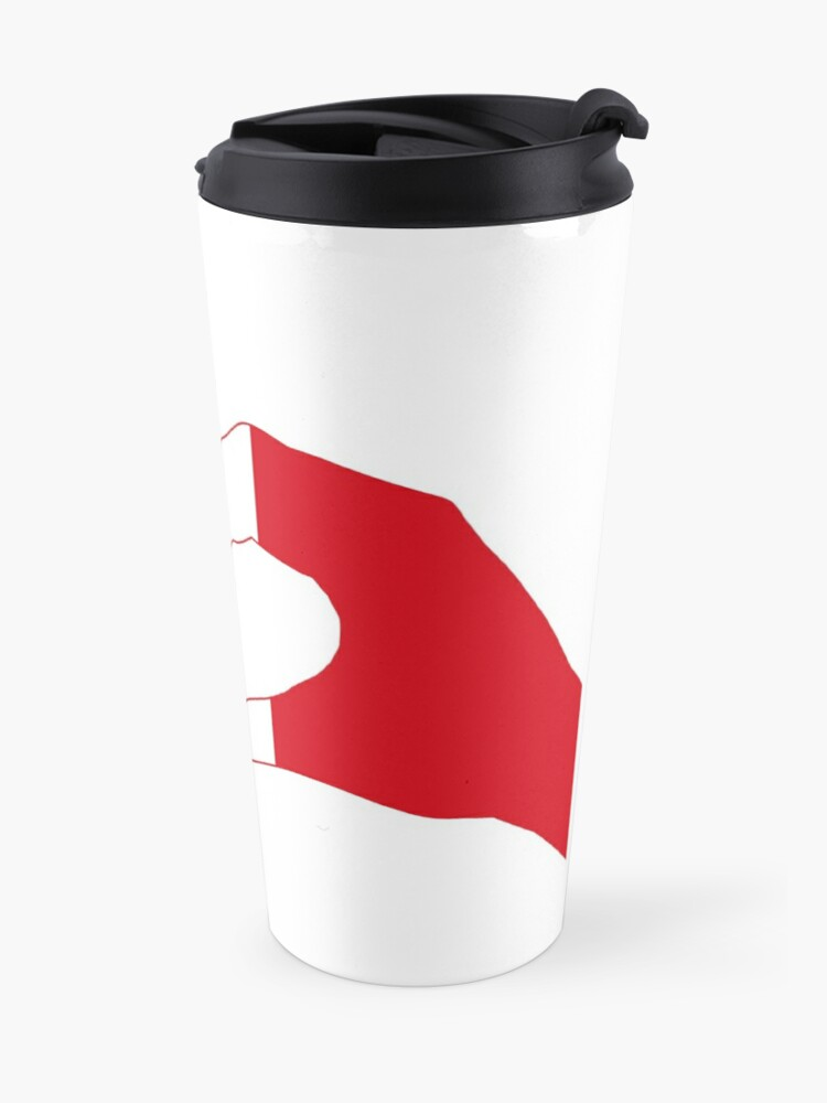 Alternate view of We Heart France Patriot Series Travel Mug
