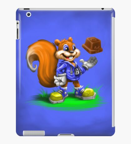 A Squirrel's Comeback iPad Case/Skin